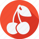 cherry, cooking, food, fruit, fruits, gastronomy, vegetable icon