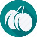 cherry, cooking, food, fruit, fruits, gastronomy, olives, vegetable icon