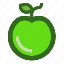 apple, food, fruit, meal, natural icon
