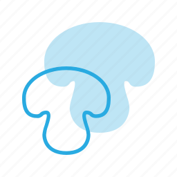 food, health, healthy, mushroom icon