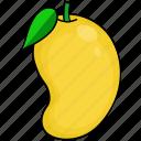 food, fruits, mango icon
