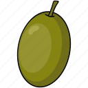 food, olive, vegetables icon