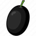 food, olive, vegetable icon