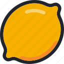 citrus, dessert, food, fruit, gastronomy, lemon, lime icon