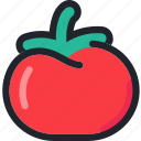 food, fruit, gastronomy, healthy, tomato, vegetable icon