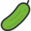 eat, food, gastronomy, healthy, pickles, vegetable icon