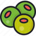 cooking, food, gastronomy, olive oil, olives, vegetable icon