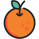 food, fruit, gastronomy, healthy, juice, orange icon