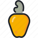 cashew, dessert, food, gastronomy, healthy, nut icon