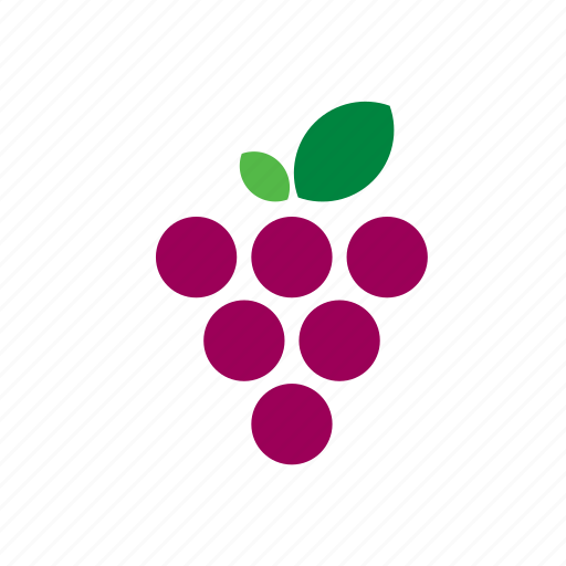 blueberry, food, fruit, grape, vegetable, vegetables icon