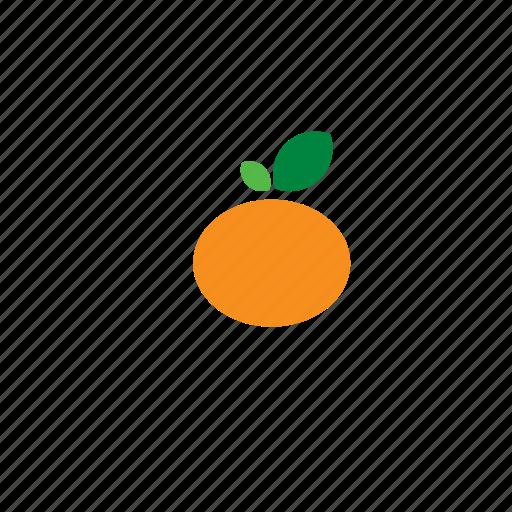 food, fruit, mandarin icon