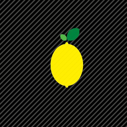 food, fruit, lemon, vegetable icon