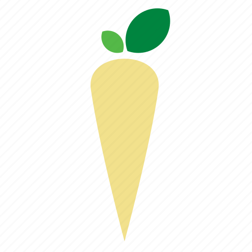 food, horseradish, raddish, radish, vegetable icon