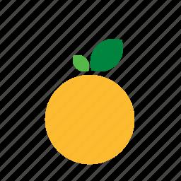apricot, food, fruit, orange, peach, vegetable icon