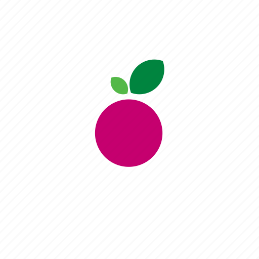 celery, food, fruit, plum, radish, vegetable icon