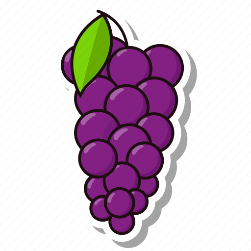 berry, food, fruit, grapes icon
