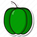 bellpepper, capsicum, coloredbeans icon