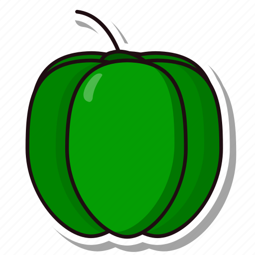 bellpepper, capsicum, coloredbeans icon