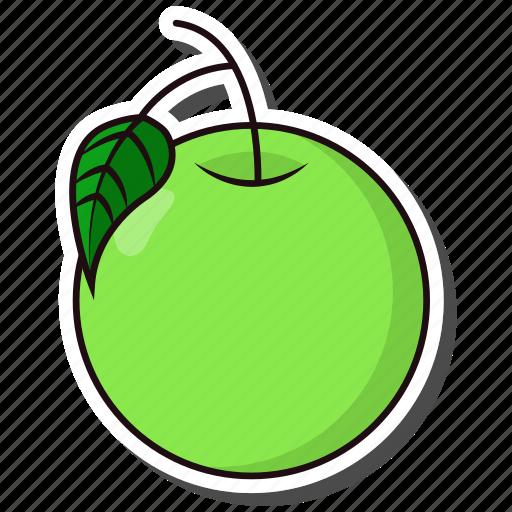 day, fruit, guava, megan icon