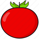 coloredbeans, food, kitchen, red, tomato, vegetable, veggie icon