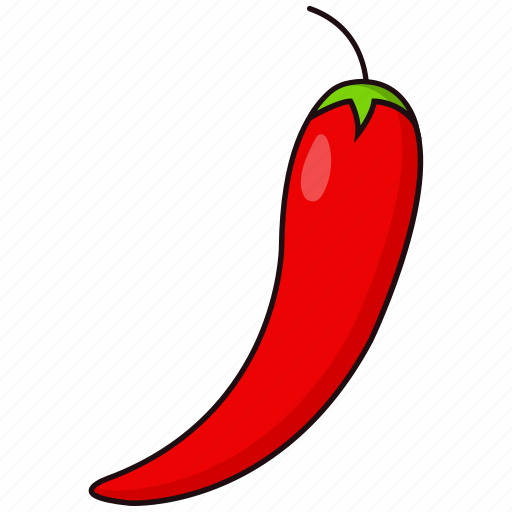 chili, food, pepper, vegetable icon