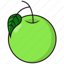 day, fruit, guava, megan icon
