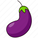 coloredbeans, eggplant icon