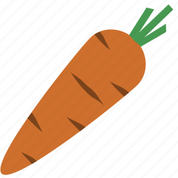 carrot, vegetable icon