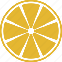 lemon, slice icon