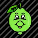 character, food, fruit, guava, organic