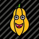 character, food, fruit, organic, papaya