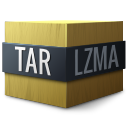application/x-, compressed, lzma, tar icon