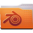 blender, folder icon