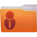 costumers, folder icon