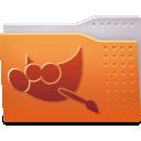 folder, gimp icon