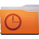 folder, recent icon