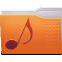 folder, sounds icon