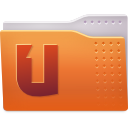 folder, one, ubuntu icon