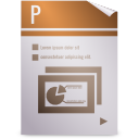 gnome, mime, opendocument presentation icon