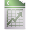 applix, gnome, mime, spreadsheet icon