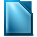 libreoffice, writer icon