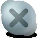 contact, offline, skype icon
