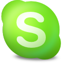 contact, online, skype icon