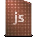 javascript, text icon