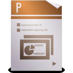 opendocument presentation icon