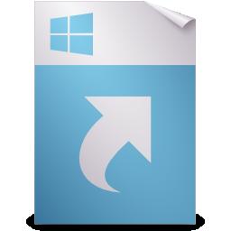 application, ms, shortcut icon