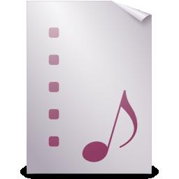audio, mpegurl icon