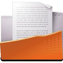 document, open icon