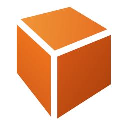cuboid, draw icon