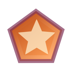 draw, polygon, star icon